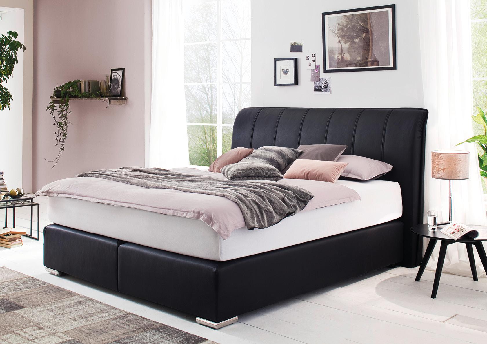 boxspringbett mit kopfteil catagena m bel haas gmbh einr der nordeifel in simmerath witzerath. Black Bedroom Furniture Sets. Home Design Ideas